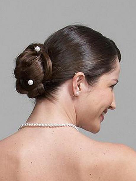 Chignon et coiffure de mariage - Coiffure mariage chignon bas ...