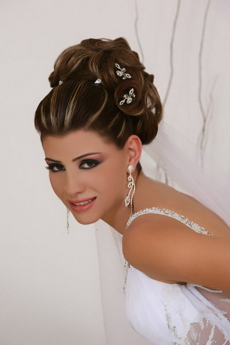 chignon mariage libanais. Black Bedroom Furniture Sets. Home Design Ideas