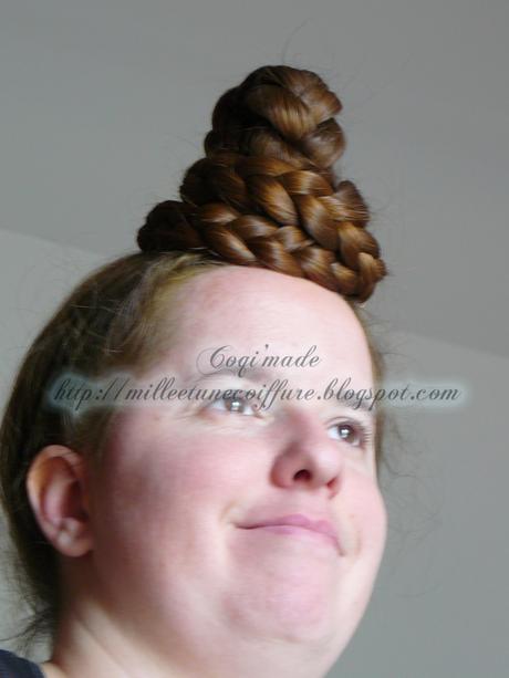 Chignons mariage cheveux mi longs - Coiffure semi attache ...
