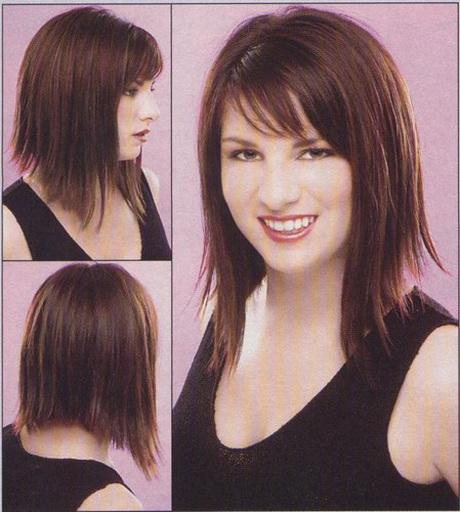 coiffure cheveux  u00e9pais mi long