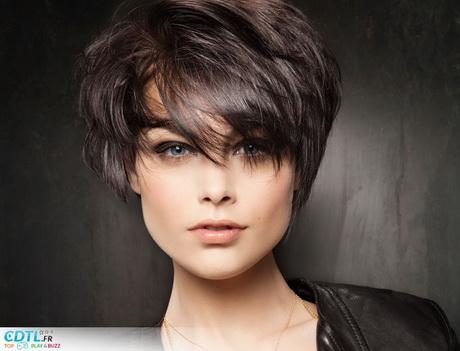 Coiffure courte effil e femme for Salon de coiffure chambly