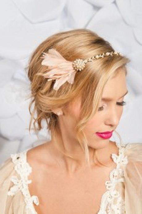coiffure mariage sur cheveu court
