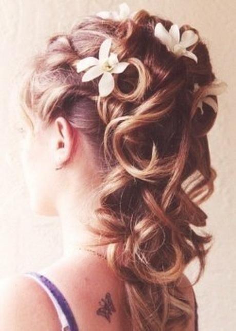 Coiffure de soiree cheveux mi long - Coiffure bapteme femme ...
