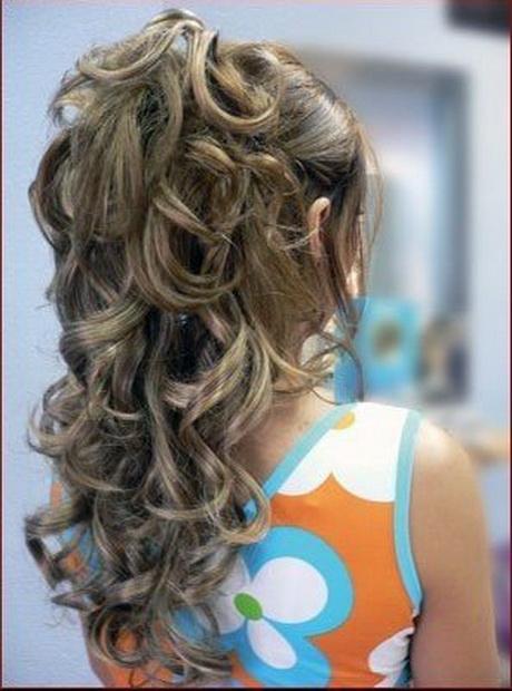 coiffure fete cheveux long