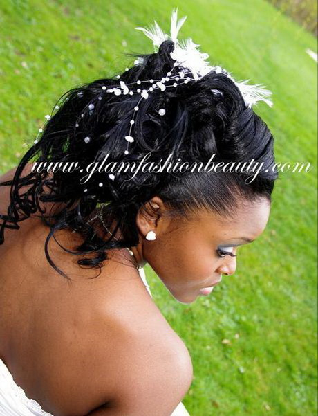 coiffure mariage africaine. Black Bedroom Furniture Sets. Home Design Ideas
