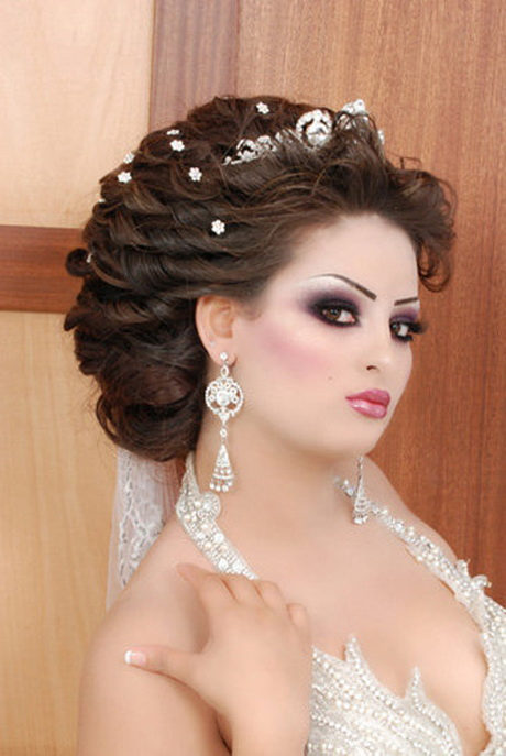 coiffure mariage algerien. Black Bedroom Furniture Sets. Home Design Ideas