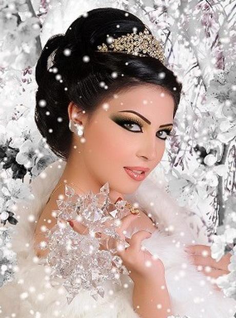 Coiffure mariage arabe
