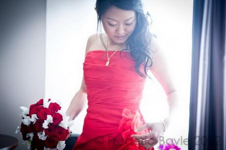 Coiffures de mariée asiatiques