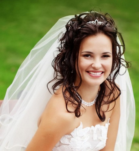 Wedding Hairstyles With Headband And Veil: Coiffure Mariage Avec Voile