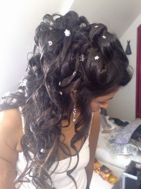 Coiffure mariage boucle - Coiffure femme boucle ...