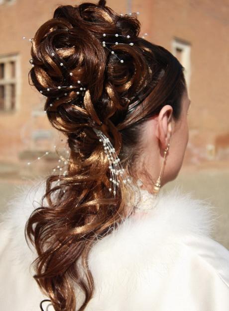 coiffure mariage cheveux longs chignon. Black Bedroom Furniture Sets. Home Design Ideas