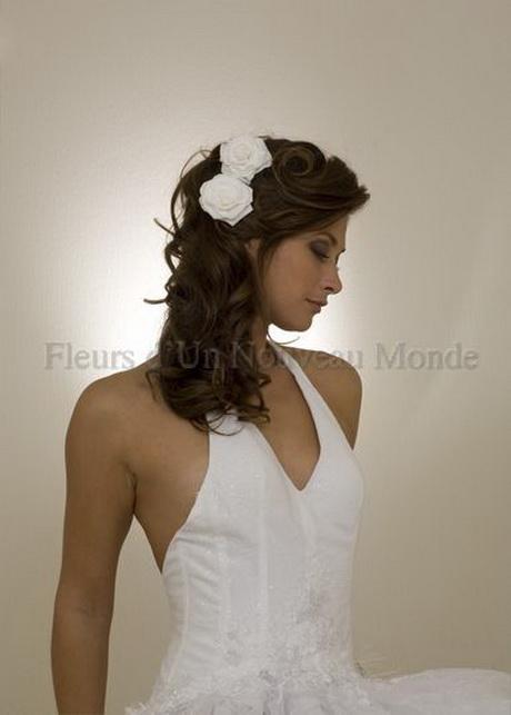 coiffure mariage fleur. Black Bedroom Furniture Sets. Home Design Ideas