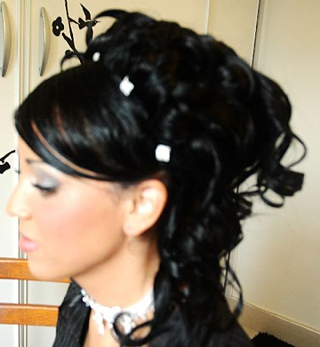 coiffure mariage orientale