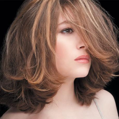 Coiffure mi long cheveux fins - Coupe de coiffure mi long ...