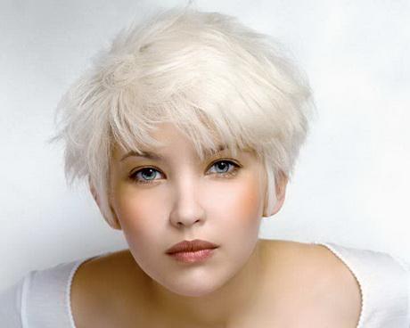 Coupe cheveux blancs
