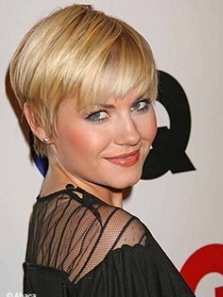 Coupe courte boule femme - Coupe courte blond cendre ...