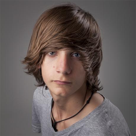 Coupe de cheveux garcon long