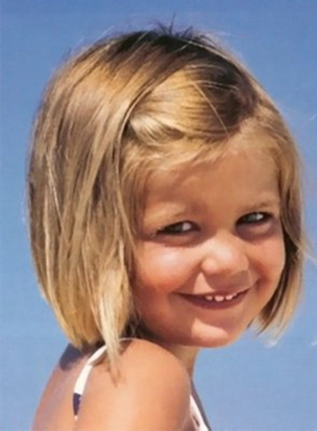 Ma nouvelle fille de coupe de cheveux