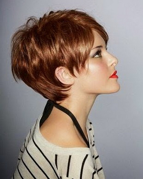 Coupe moderne cheveux courts Coupe moderne femme