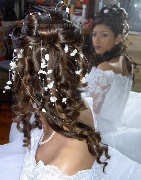 modele coiffure pour mariage. Black Bedroom Furniture Sets. Home Design Ideas