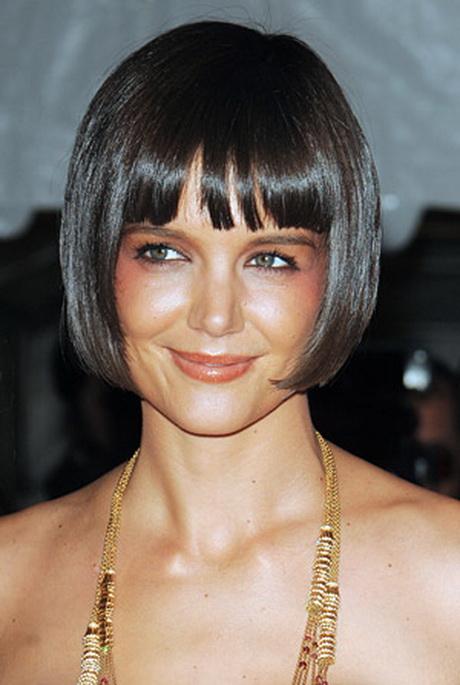 Modeles coiffure carre court - Carre court brun ...