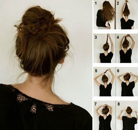 tuto coiffure cheveux mi longs. Black Bedroom Furniture Sets. Home Design Ideas