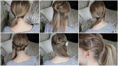 Tuto coiffure pour cheveux mi long - Tuto coiffure cheveux court ...