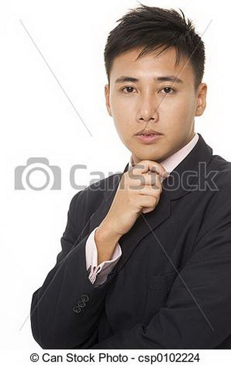 Cheveux asiatiques pour hommes
