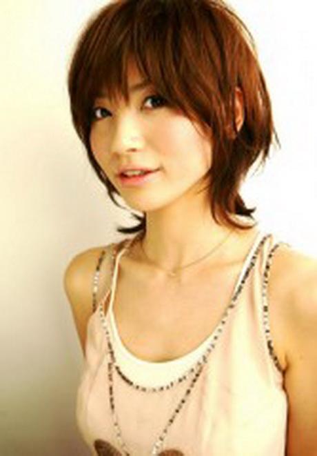 Coupes de cheveux de fille japonaise