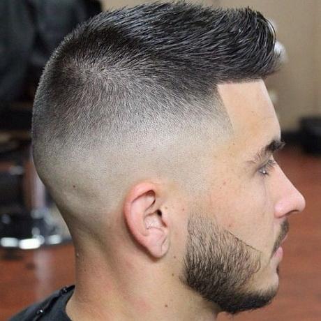Coupe de cheveux homme dégradé court