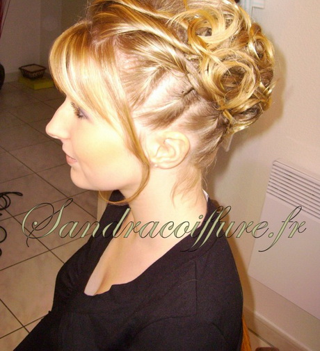 Id es coiffure mariage cheveux courts - Coiffure carre mariage ...