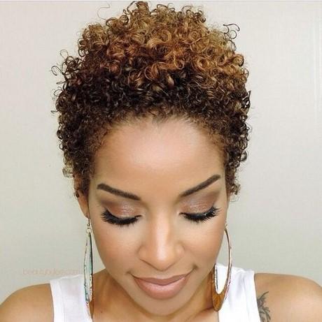Coupe courte cheveux fris s naturellement - Coupe courte afro naturel ...