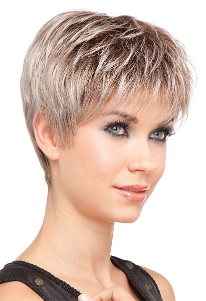 Coupe De Cheveux Carru00e9 Effilu00e9 Court