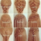 Astuce coiffure cheveux long