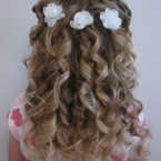 Coiffure mariage fillette
