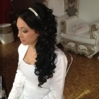 Coiffure orientale mariage