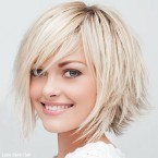 Photo coupe cheveux mi long femme