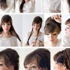 Tuto coiffure simple cheveux mi long