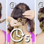 Chignon facil a faire