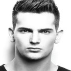 Cheveux court homme coupe