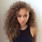 Cheveux curly