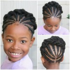 Coiffure africaine pour petite fille