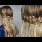 Coiffure a tresse