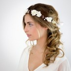 Couronne cheveux mariage