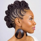Photo de coiffure africaine