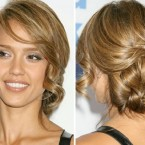 Photos chignon flou