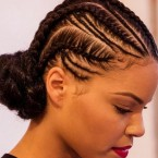 Coiffure africaine fille