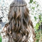 Coiffure mariage tresse cheveux long
