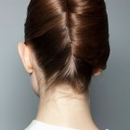 Chignon strict