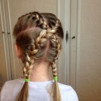 Idee coiffure fille